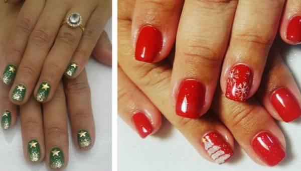 Manicure na Święta 2018 – Pomysły pełne blichtru i koloru