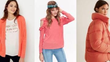Moda w kolorze Living Coral. Wybraliśmy dla was 15 propozycji z sieciówek w najmodniejszych odcieniach nadchodzącego roku