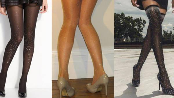 Rajstopy z biżuterią. Najnowszy trend dla eleganckich nóg