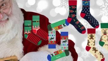 Świąteczne skarpetki to najlepszy dodatek do prezentu pod choinkę. Sama też sobie takie spraw!