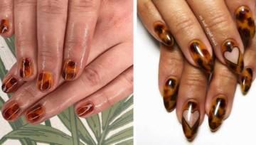 Szylkretowe paznokcie – sezonowy trend, który podbija Instagram!