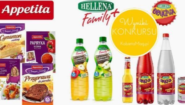 Wyniki konkursu: Smaczne Święta z Helleną i Appetitą