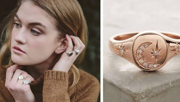 Damski sygnet – najmodniejsza biżuteria na wiosnę i lato 2019!