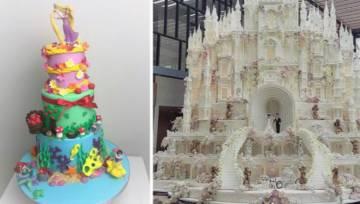 Niezwykłe torty ślubne inspirowane bajkami Disneya. To trzeba zobaczyć!