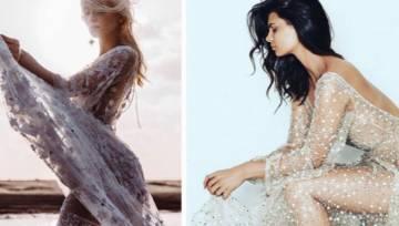 Przezroczysta suknia ślubna – kontrowersyjny trend w modzie ślubnej na 2019 rok