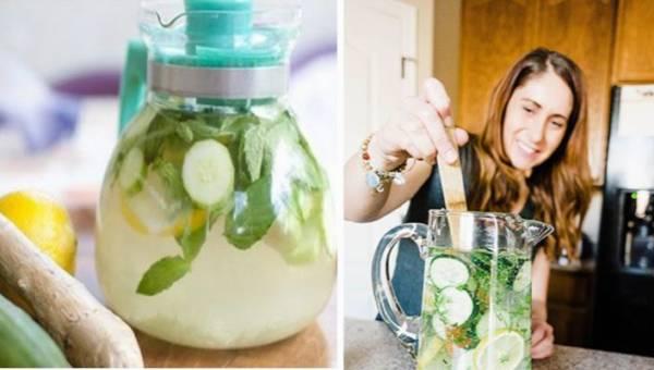 Sassy Water, czyli cudowny napój na płaski brzuch. Pij go regularnie!
