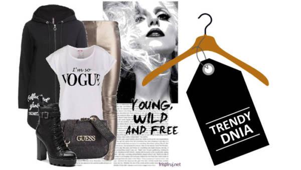 T-shirty z napisami w streetstylowych outfitach. Dwie inspirujące stylizacje!