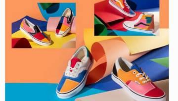 Buty inspirowane techniką color blocking! Ciekawy projekt Vans na wiosnę 2019