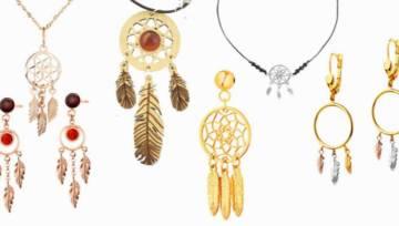 Biżuteria z łapaczem snów – akcesoria z ulubionym motywem miłośniczek boho!