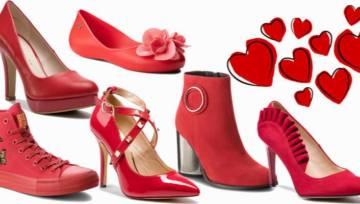Ubrana w miłość od stóp do głów! Prezentujemy czerwone buty specjalnie na Walentynki