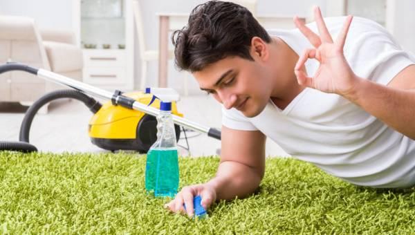 Jak łatwo wyczyścić dywan