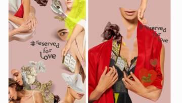 Wyjątkowa kampania walentynkowa Reserved z kolażami Barrakuz. Bo Walentynki są #ReservedForLove!