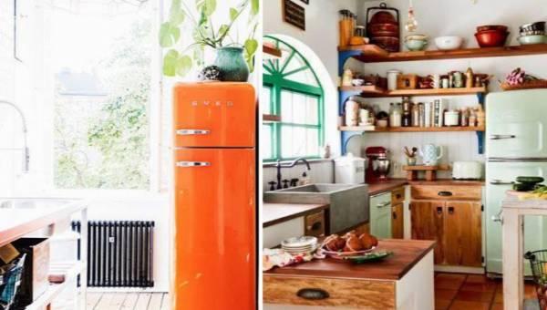 Kolorowe lodówki – jak wam się podoba ten kuchenny retro trend?