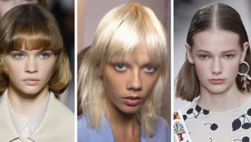 Krótkie fryzury na wiosnę 2019 – inspirujące propozycje z pokazów mody!
