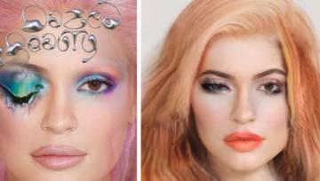Dazed Beauty prezentuje makijaż zrobiony przez sztuczną inteligencję. Niezwykłe czy straszne?