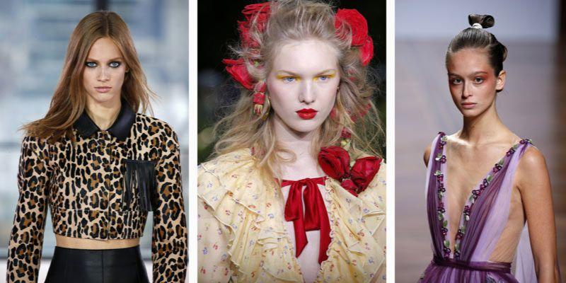 modny makijaż na wiosnę i lato 2019