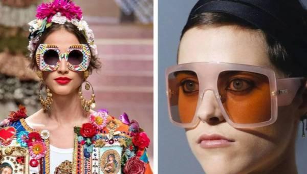 Modne okulary damskie 2019. Przedstawiamy największe trendy prosto z wybiegów