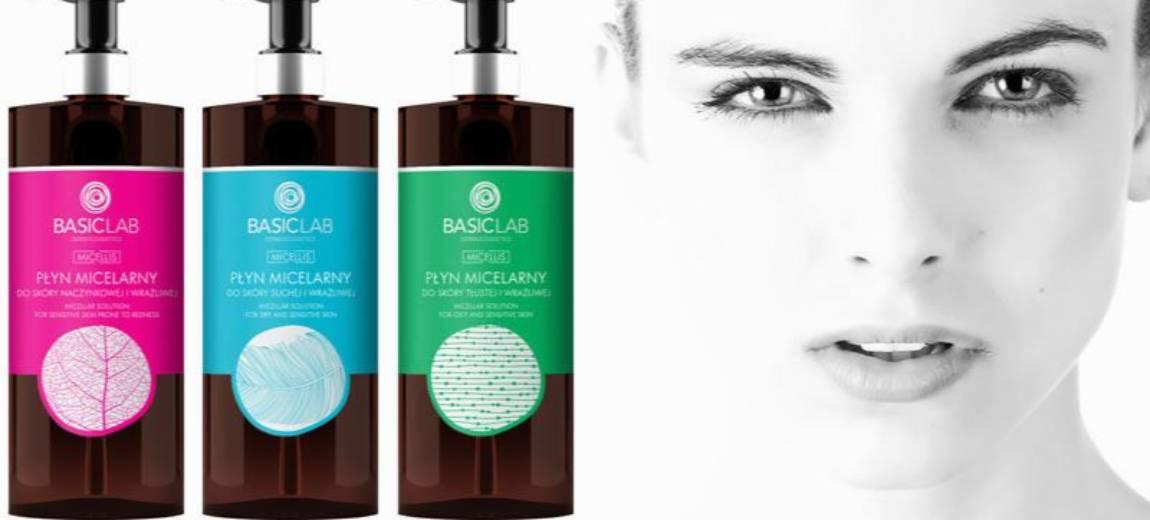 Wybierz płyn micelarny stworzony dla twojej skóry. Przedstawiamy nowości od BasicLab Dermocosmetics