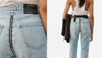 Spodnie z zamkiem z tyłu – czy takie dżinsy będziemy nosić wiosną i latem? Poleca Alexander Wang!
