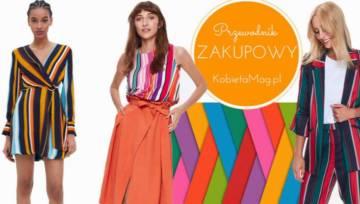 Spring stripes – wraz z wiosną na ulice wkracza gorący trend. Ubrania w tęczowe paski znajdziesz w sieciówkach