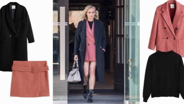 Mango total look – zobacz jak na Festiwalu Filmowym w Berlinie wystąpiła aktorka i modelka Diane Kruger