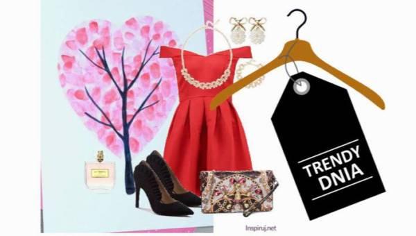 Serduszkowa królowa, czyli walentynkowe stylizacje z czerwoną sukienką