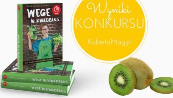 """Sprawdź czy wygrałaś książkę: """"Wege w kwadrans"""". Rozstrzygnięcie konkursu!"""