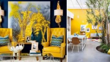 Żółty we wnętrzach – trend, który może śmiało konkurować z Living Coral