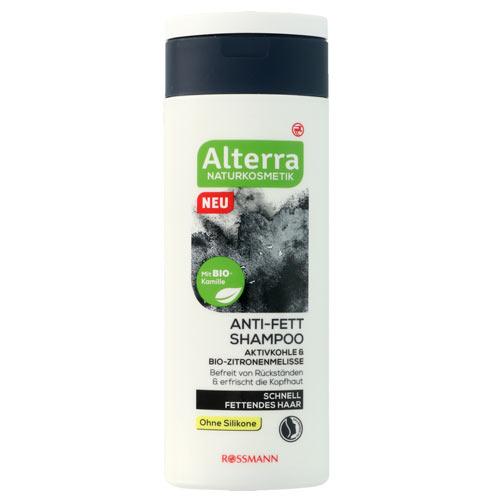 Alterra, Węgiel aktywny & melisa bio – szampon oczyszczający