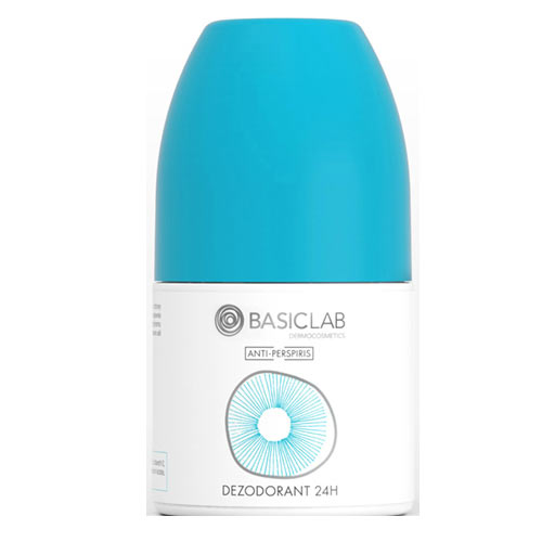 Antyperspirant BasicLab Dermocosmetics, dezodorant 24 h