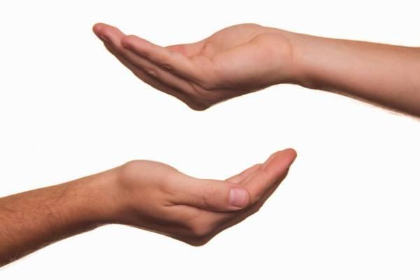 Dieta zasada dłoni - garść