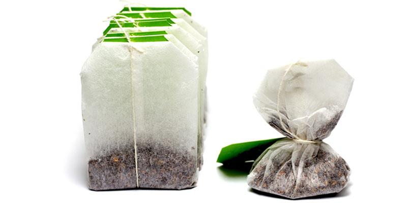 jak wykorzystać torebki po zielonej herbacie