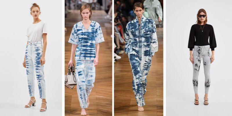 modne dżinsy na wiosnę 2019