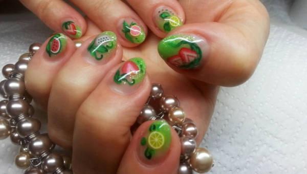 Paznokcie inspirowane jedzeniem – oryginalny manicure dla koneserek dobrej kuchni