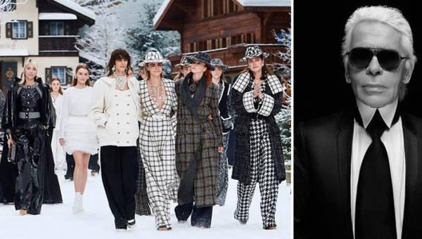 Chanel pożegnał swojego wielkiego projektanta. Ostatnia kolekcja Karla Lagerfelda