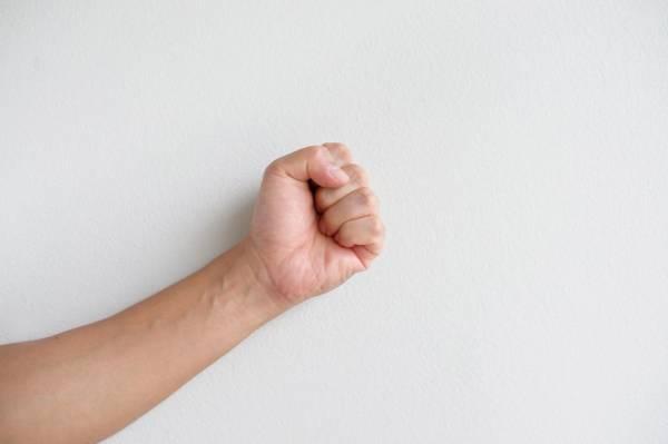 Dieta zasada dłoni - zaciśnięta pięść