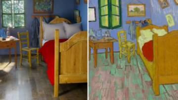Pokój van Gogha i inne wnętrza z obrazów w nowej odsłonie. Okazuje się, że możesz zamieszkać w namalowanym domu!