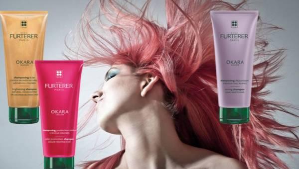 Intensywny blask i rozświetlenie mieniącymi się refleksami. Przedstawiamy najnowsze szampony Rene Furterer z linii Ocara