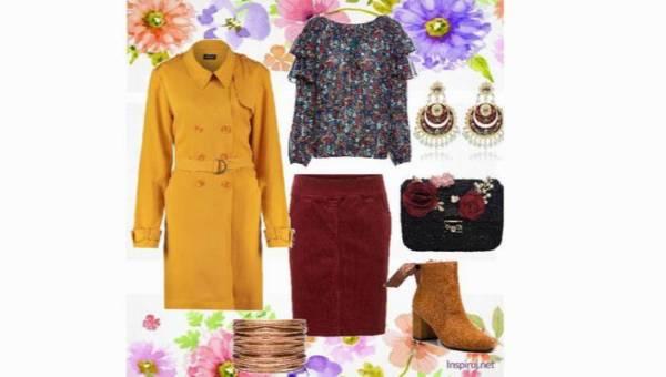 Sztruks i prochowiec – duet wiecznie żywy! Outfit, który przenosi barwy jesieni do wiosennego miasta