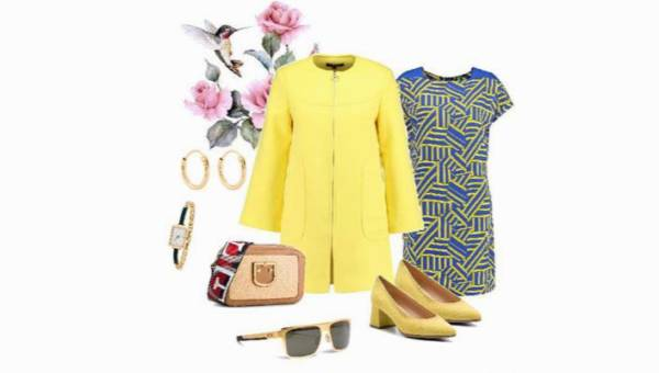 Zarażaj optymizmem! Soczysty żółty i inspirująca geometria w jednej stylizacji