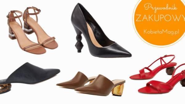 Przewodnik zakupowy: buty z oryginalnym obcasem – must have tego sezonu!