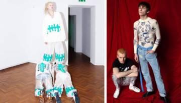 Muzeum czy odzieżowa sieciówka? Dom Mody Limanka stworzył kolekcję-wystawę, która daje do myślenia!