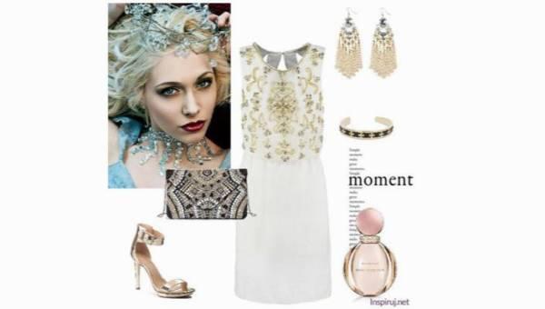 """Outfit na wykwintną premierę """"Gry o tron"""". Złoto i biel dla królowej"""