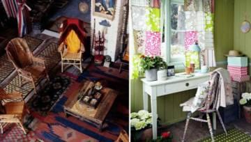 Patchwork we wnętrzach – kolorowe wzory opanowały wiosną nie tylko tekstylia