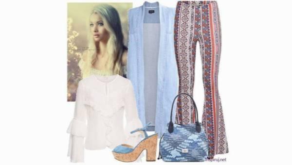 Denimowe lata 70. – jeansowa stylizacja pełna luzu i uroku