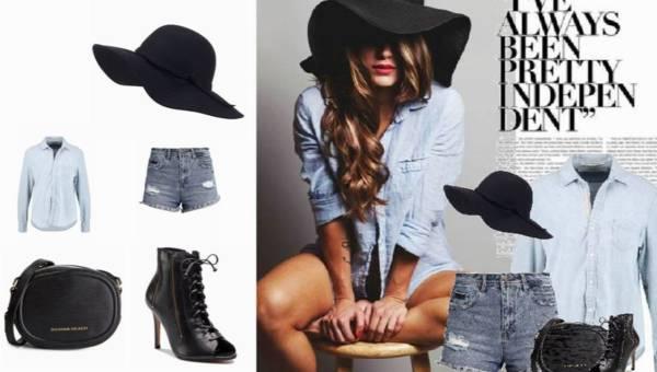 Jeans i kapelusz. Outfit w stylu miejskiej bohemy