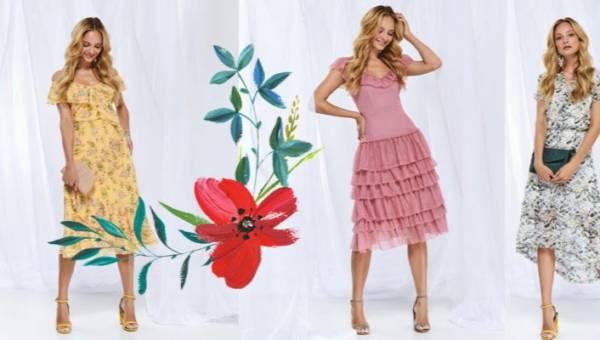 Romantyczne, koktajlowe i kobiece sukienki z Top Secret na maj