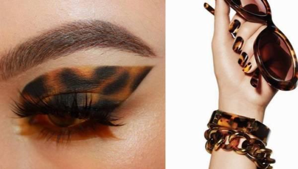 Szylkretowy makijaż – kocia oprawa idealna dla zielonych, szarych i brązowych oczu!