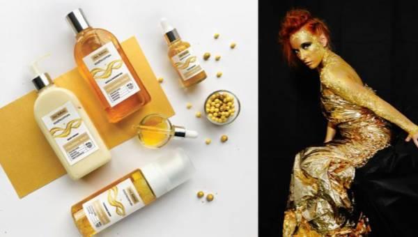 Złoto koloidalne, czyli luksus dla skóry. Przedstawiamy najnowszą serię pielęgnacyjną od Starej Mydlarni