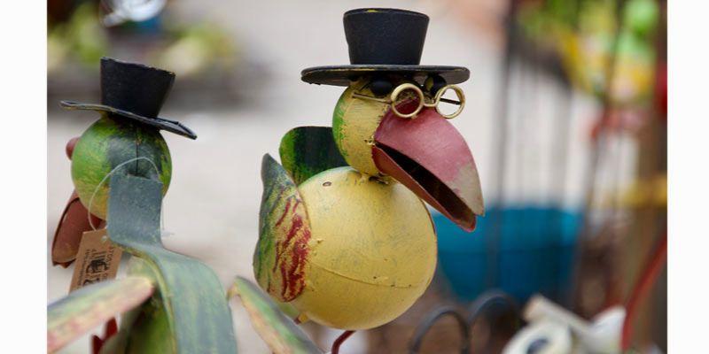 ptak jako motyw dekoracyjny